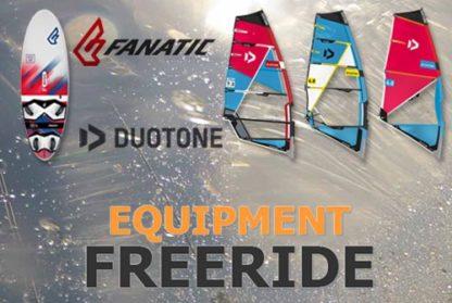 Duotone und Fanatic Freeride