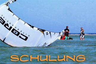 Schulung Kitesurfen E